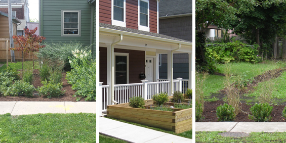 Can I install Green Infrastructure at my home?